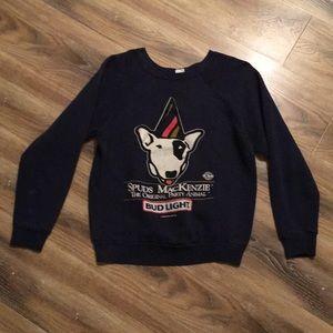 Spuds MacKenzie Vintage 1980s Navy Sweatshirt